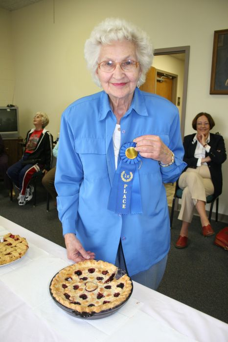 Rowena Agostini - Pie Winner
