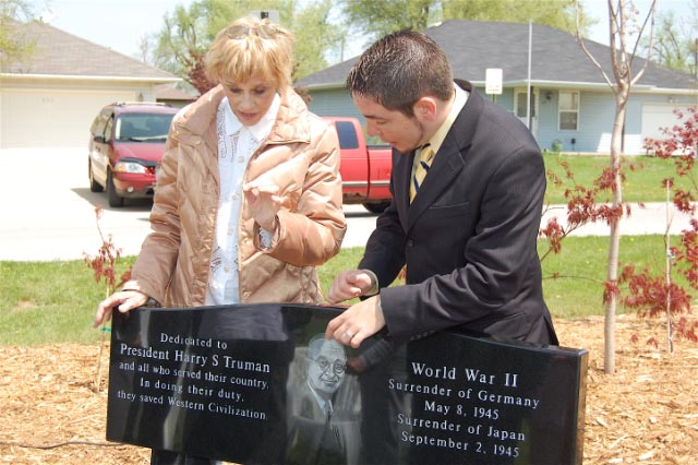 World War II Bench Dedication